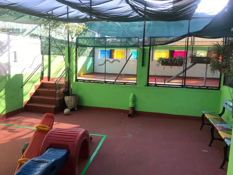 Nuetra terraza de juegos salas de 4 y 5